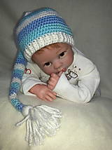 Detské čiapky - Elfová čiapka - 6254114_