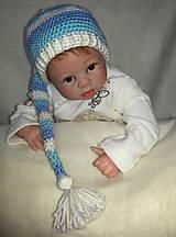 Detské čiapky - Elfová čiapka - 6254115_