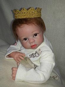 Detské doplnky - Zlatá korunka - 6254251_