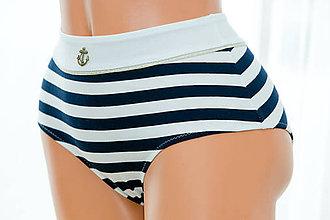 Bielizeň/Plavky - Dámske nohavičky extra vysoký pás - 6252578_