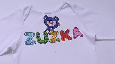 Detské oblečenie - Body s menom - 6253663_