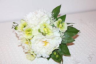 Kytice pre nevestu - umela kyticka - 6255124_