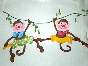Detské oblečenie - Veselá džungľa - 6253915_