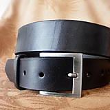 Doplnky - Černá klasika šíře 4 cm - 6255821_