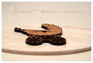 Dekorácie - Drevená tabuľka na dvere detskej izbičky - 6256323_
