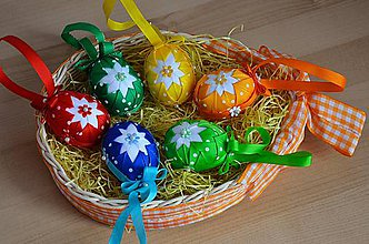 Dekorácie - Veľkonočné vajíčka - 6256814_