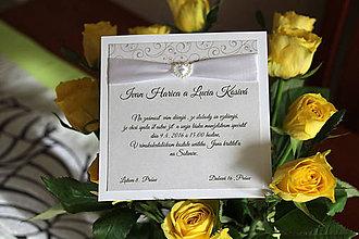 Papiernictvo - Svadobné oznámenie LO01 - 6257664_