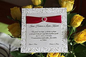 Papiernictvo - Svadobne oznámenie LO04 - 6257732_