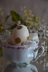 Glitrované vajíčka