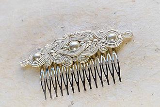 Ozdoby do vlasov - Hľadá sa ženích - hrebienok - 6258301_