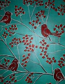 Obrazy - Keď si vtáčence začnú štebotať - 6257825_