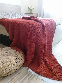 Úžitkový textil - Prehoz na posteľ alebo deka - 6257666_