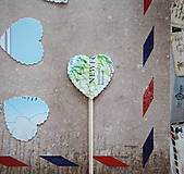 Dekorácie - Candy bar - výzdoba (špáradlá MAPA) - 6260691_