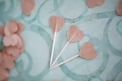 Dekorácie - Napichovátka do svadobného candy baru - 6260770_