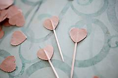 Dekorácie - Napichovátka do svadobného candy baru - 6260771_