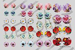 Materiál ručne robený - Motívy na šperky č. 41- akcia 4+1 zdarma na všetky motívy - 6261513_