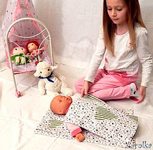 Hračky - Bavlnené perinky pre bábiku - Mimi - 6261684_
