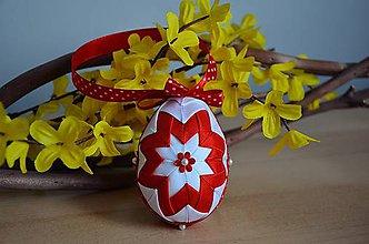 Dekorácie - Vajíčko červené - 6262842_