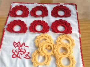 Úžitkový textil - Krúžky na servítky - 6260109_