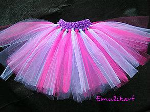 Detské oblečenie - Violetka tutu tylová suknička - 6261210_