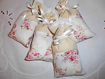 Úžitkový textil - voňavé vrecúška STOF béžové - 6263084_