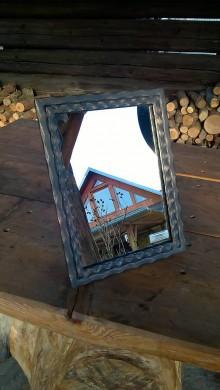 Zrkadlá - Kovové štýlove zrkadielko IVANKA - 6261263_