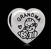 Korálky - Pandorková korálka GRANDMA - 6261597_