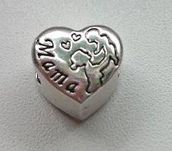 Korálky - Pandorková korálka MAMA - 6261695_