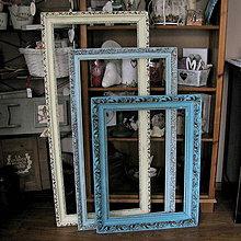 Rámiky - Sada troch veľkých vintage rámov - predaná - 6260216_