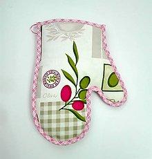 Úžitkový textil - chňapka Oliva - 6264980_