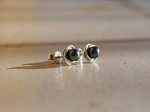 Náušnice - Náušničky s perlou - 6263703_