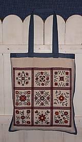 Nákupné tašky - Nákupná taška - folklór - 6266708_