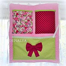 Textil - Vreckár na postieľku 60x70cm - 6266963_