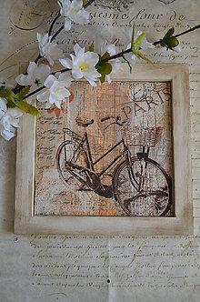 Obrázky - Obrázok Retro bicykel Paris - 6264514_