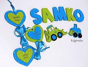 Tabuľky - súprava pre SAMKA - 6265557_