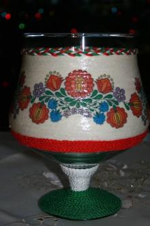 Svietidlá a sviečky - Svietnik - Kalocsai - 6266575_