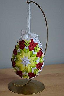 Dekorácie - Vajíčko XXL farebné - 6264299_