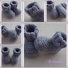 Topánočky - ...lilky,lilavé fialové - 6263588_