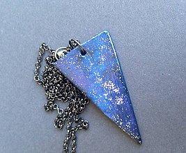 Náhrdelníky - Hviezdna geometria náhrdelník - 6268282_
