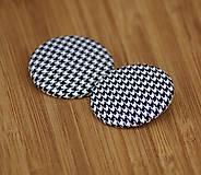 Materiál ručne robený - Buttony 38 mm - pepito - 6268092_