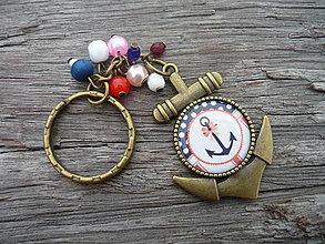 Kľúčenky - Klíčenka Sweet Navy - 6269362_