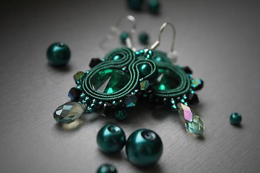 mini štebotavé (smaragdové-emerald)