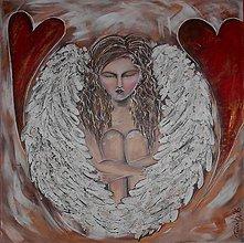 Obrazy - Pod krídlami lásky - 6267442_