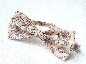 Doplnky - Pánsky motýlik Retro bicykle - 6273431_
