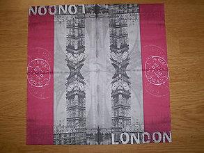 Papier - Servítka Londýn - 6274723_