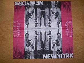 Papier - Servítka New York - 6274726_