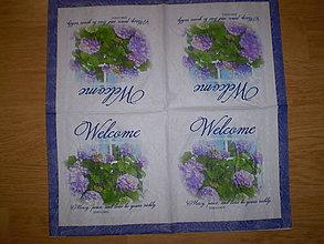 Papier - Servítka Welcome - 6274734_