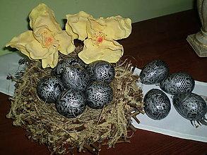 Dekorácie - Veľkonočné vajíčka - 6274745_