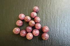 Minerály - Rubelit (červený turmalín) 10mm - 6274784_