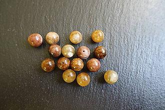 Minerály - Turmalín drávidský (hnedý) 10mm - 6274718_